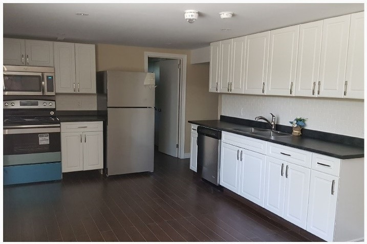 Brand new kitchen with SS appliance and built-in Microwave